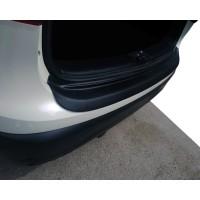 Накладка на задний бампер EuroCap (2014-2017, ABS) для Nissan Qashqai 2014+