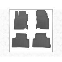 Nissan Qashqai 2014+ Резиновые коврики (4 шт, Stingray Premium)