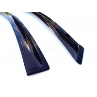 Ветровики (4 шт, ANV) для Nissan Qashqai 2014+
