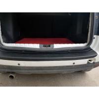 Накладка на задний бампер EuroCap (ABS) для Nissan Terrano 2014+