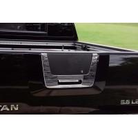 Хром накладка на багажник (пласт) для Nissan Titan 2004-2011