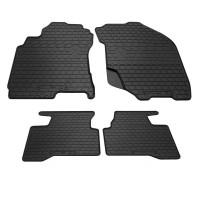 Резиновые коврики (4 шт, Stingray Premium) для Nissan X-trail T30 2002-2007