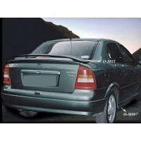 Спойлер Sedan (под покраску) для Opel Astra G classic 1998-2012