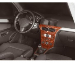 Opel Astra H 2004-2013 гг. Накладки на панель Дерево