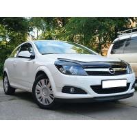 Дефлектор капота (VIP) для Opel Astra H 2004-2013