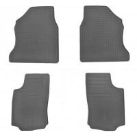 Резиновые коврики (Stingray) 2 штуки для Opel Combo 2002-2012