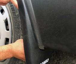 Opel Combo 2012-2018 гг. Брызговики (Турция) Задние