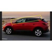 Верхние молдинги стекол (8 шт, нерж) для Opel Grandland X 2016+