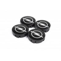 Колпачки в титановые диски V2 (4 шт) 55,5 мм для Opel Kadett