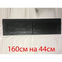 Задние резиновые коврики (2 шт, Stingray) Premium - без запаха резины для Opel Movano 2010+