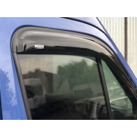 Ветровики (2 шт, Niken) для Opel Movano 2010+