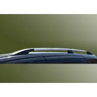 Рейлинги Хром Long, пластиковые ножки для Opel Movano 2010+