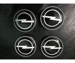 Opel Signum 2005+ гг. Колпачки в титановые диски V2 (4 шт) 55,5 мм