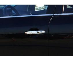 Opel Signum 2005+ гг. Накладки на ручки (4 шт., нерж.) OmsaLine - Итальянская нержавейка