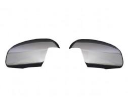 Opel Signum 2005+ гг. Накладки на зеркала (2 шт, нерж.) OmsaLine - Итальянская нержавейка