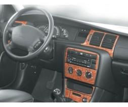 Opel Vectra B 1995-2002 гг. Пластиковые накладки на панель Дерево