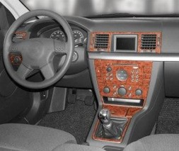 Opel Vectra C 2002+ гг. Накладки на панель Дерево