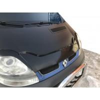 Дефлектор капота (FLY, коротка) для Opel Vivaro 2001-2015