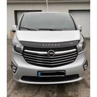 Дефлектор капота (VIP) для Opel Vivaro 2015-2019