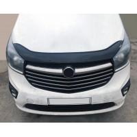 Дефлектор капота (EuroCap) для Opel Vivaro 2015-2019