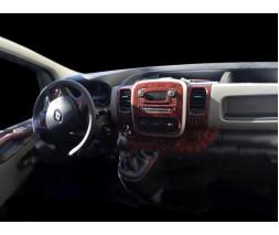 Opel Vivaro 2015-2019 гг. Накладка на торпеду Титан