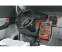 Opel Zafira A 1998-2006 гг. Накладки на панель Карбон