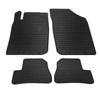Резиновые коврики (4 шт, Stingray Premium) для Peugeot 206