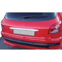 Накладка над номером (2004-2021, ABS) для Peugeot 206