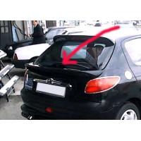Спойлер (под покраску) для Peugeot 206