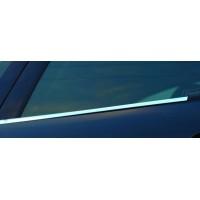 Peugeot 207 Наружняя окантовка стекол (4 шт, нерж)