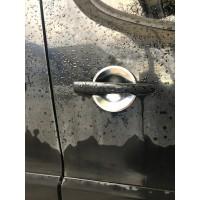 Peugeot 207 Накладки под ручки (4 шт, нерж.)