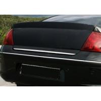 Кромка багажника (нерж) Carmos - Турецкая сталь для Peugeot 407