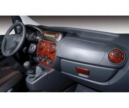 Peugeot Bipper 2008+ гг. Накладки на панель Карбон