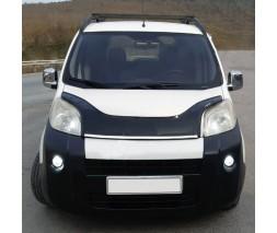 Peugeot Bipper 2008+ гг. Дефлектор капота (EuroCap)
