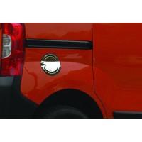 Накладка на лючок бензобака (нерж.) для Peugeot Bipper 2008+