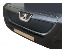Peugeot Boxer 2006+ и 2014+ гг. Зимняя решетка (2006-2014) Глянцевая