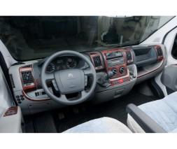 Peugeot Boxer 2006+ и 2014+ гг. Накладки на панель (2006-2014) Карбон