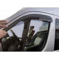 Ветровики (2 шт, Niken) для Peugeot Boxer 2006+ и 2014+