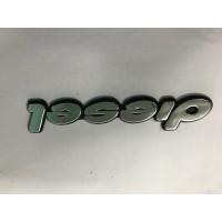 Надпись Diesel (самоклейка) 13,5 см для Peugeot Expert 1996-2007
