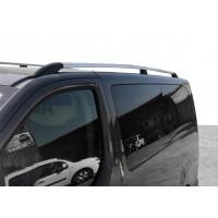 Peugeot Expert 2017+ гг. Рейлинги Хром XL база, пластиковая ножка