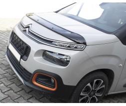 Peugeot Partner/Rifter 2019+ гг. Дефлектор капота (EuroCap)
