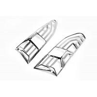 Накладки на стопы (2 шт, ABS) для Peugeot Partner/Rifter 2019+