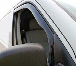 Peugeot Partner Tepee 2008-2018 гг. Ветровики вставные (2 шт, HIC)
