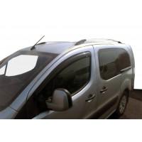 Ветровики (2 шт, HIC) для Peugeot Partner Tepee 2008-2018