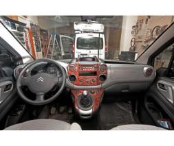 Peugeot Partner Tepee 2008-2018 гг. Автотюнинг салона (цвета в ассортименте) Карбон