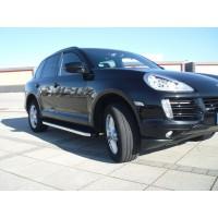Боковые пороги BlackLine (2 шт., алюминий) для Porsche Cayenne 2003-2010