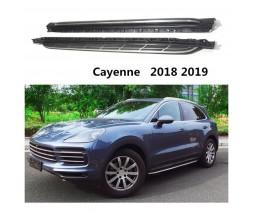 Porsche Cayenne 2018↗ гг. Оригинальные площадки (2 шт., алюминий)