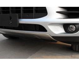 Porsche Macan 2014+ гг. Передняя и задняя накладки (2 шт)