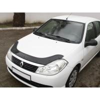 Дефлектор капота (EuroCap) для Renault Symbol 2008-2013
