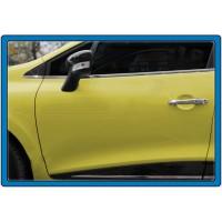 Накладки на дверные ручки (4 шт, нерж) для Renault Clio IV 2012-2019